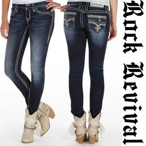 Rock Revival Jasna Skinny Stretch Jeans 28